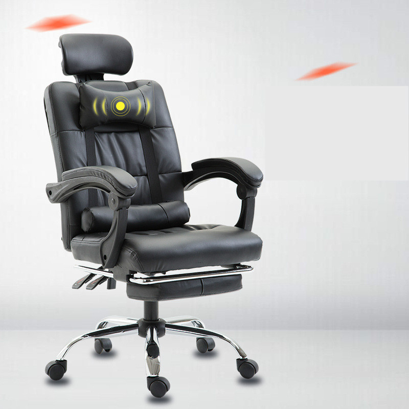 Computer Chair Household Office Boss Chair Modern Simple Recline Massage Gaming Chair Lift Swivel Silla Oficina Silla Gamer