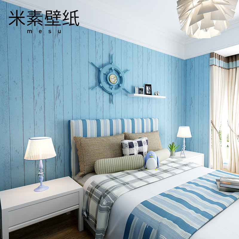 Wall Paper Papier Peint De Parede M In The Mediterranean Style Bedroom Wallpaper Children Room Boy Living Backdrop Fringe Of Oz купить