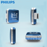PHILIPS Mini Mp3 Player FM And FM Recording Voice Recorder Function With Built In Lithium Battery