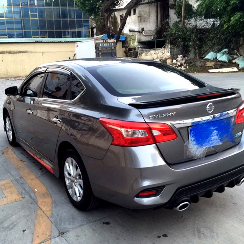 UNPAINTED REAR WING SPOILER FOR A NISSAN SENTRA PULSAR FACTORY STYLE 2013-2018