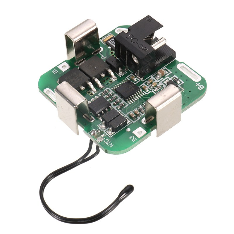 1PC 4 string 16.8V lithium battery protection board 14.8V / 16.8V For power tools drill straight Electronic Components & Supplie