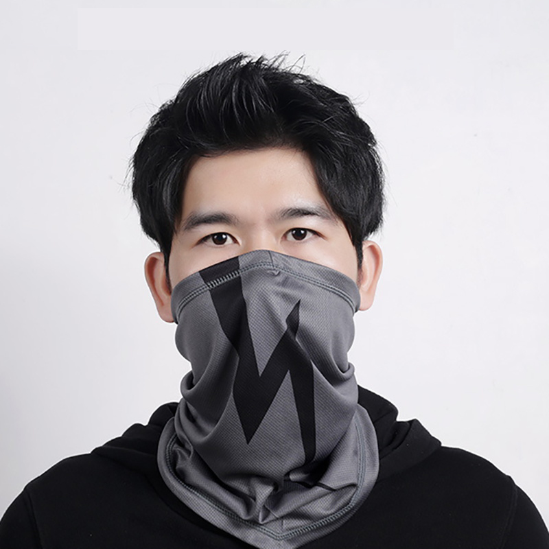 Snowboard Face Mask Scarf Bicycle Quick-drying Breathable Cycling Triangle Half Face Mask Cosplay Scarf <font><b>Bts</b></font> Snow Cover <font><b>Unisex</b></font> image