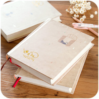 1pc Lovely Color Page Diary Notepad Creative Blank Notebook Thick Notebook Personal Planner