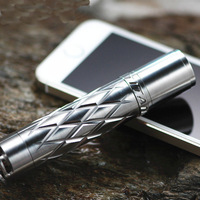 Titanium alloy, titanium ET10I flashlight, strong light flashlight, LED flashlight, key chain flashlight free shipping