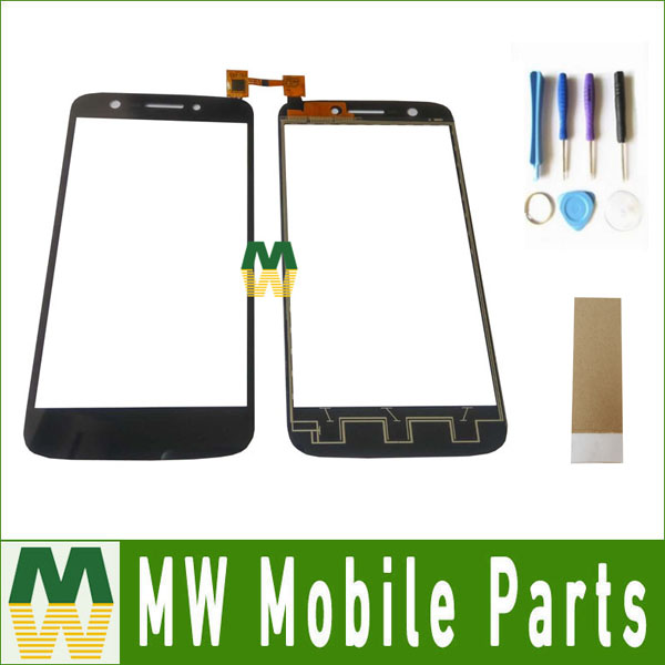1PC/ Lot For Prestigio MultiPhone PAP5508 PAP 5508 DUO Touch Screen Digitizer Assembly Black Color with tools+Tape