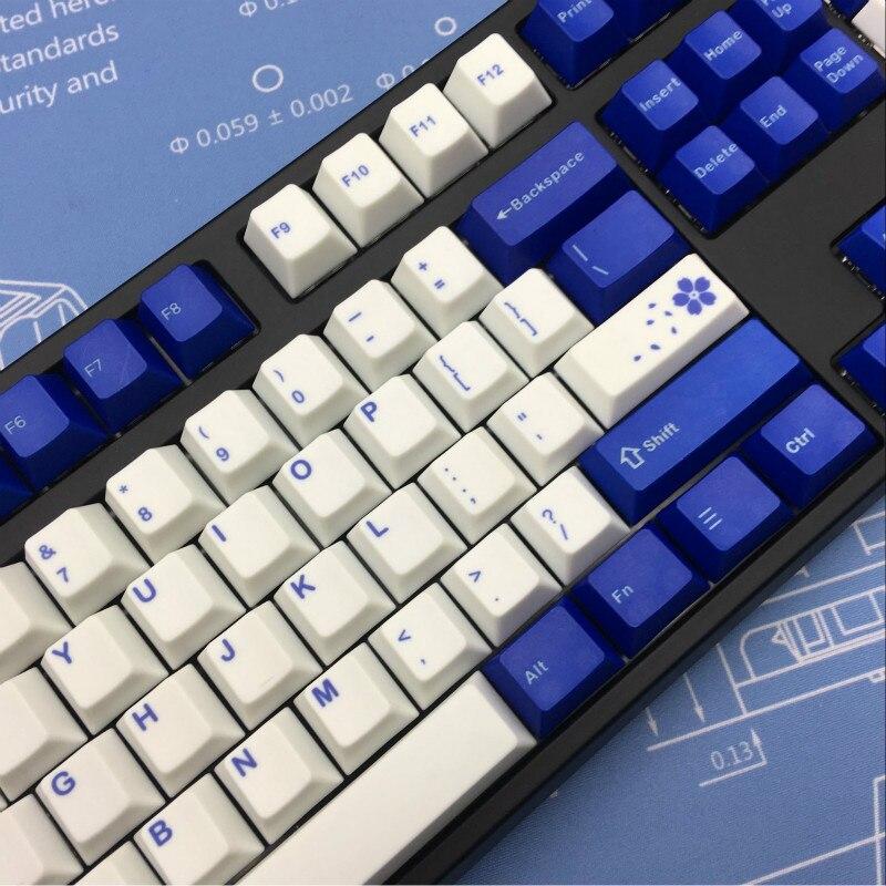Dye Sub mechanical keyboard keycap set, cherry profile, 131 keys,  compatiable with 87/104/108/64/minila/84/96 chery profile