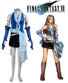 Free Shipping Final Fantasy  X Yuna Singing Uniform Game Cosplay Costume