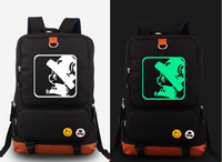 One Piece Luffly Luminous Shoulder Backpack Glow In Dark Travel School Laptop Bag Gift