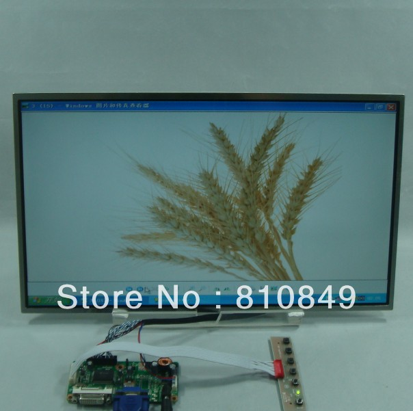 DVI+VGA Lcd Control board+17.3inch 1600*900 N173FGE-L21 N17306-L02 Lcd Panel 8 4 8 inch industrial control lcd monitor vga dvi interface metal shell open frame non touch screen 800 600 4 3