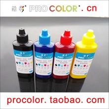 PROCOLOR T7741 774 BK T6642 T6643 T6644 комплект пополнения чернил Пигмент чернила для EPSON СНПЧ EcoTank L605 L655 L 605 655 Струйных pritner