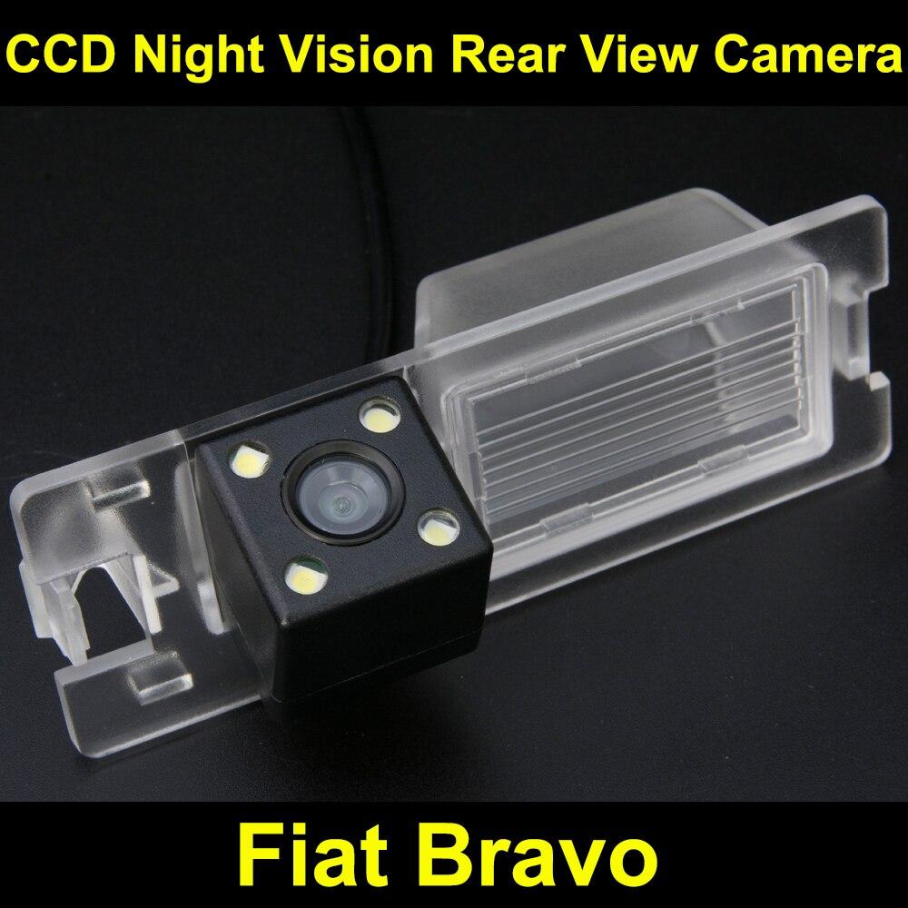 imágenes para Cámara de vista trasera del coche para Fiat Bravo 2011 CCD de Copia de seguridad para Estacionarse en Reversa Cámara de Visión Nocturna