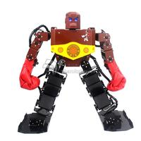 Собранные Тайсон 16 Фо человекоподобный робот Рамки комплект конкурс Танец робота с сервоприводом Бокс перчатки капюшон PS2 ручка