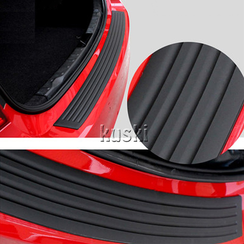 Chuky Car Styling Rear Trunk Door Sill Protect Stikers For Bmw E90