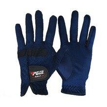 Для мужчин правой Левая рука гольф перчатки пота абсорбирующий микрофибры ткань мягкая дышащая истиранию перчатки Фирменная Новинка 9282