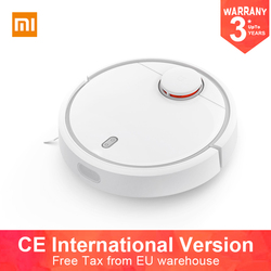 International Version Original XIAOMI  Robot Vacuum Cleaner Smart Planned Type ASPIRADOR WIFI App Control Auto Charge for Home
