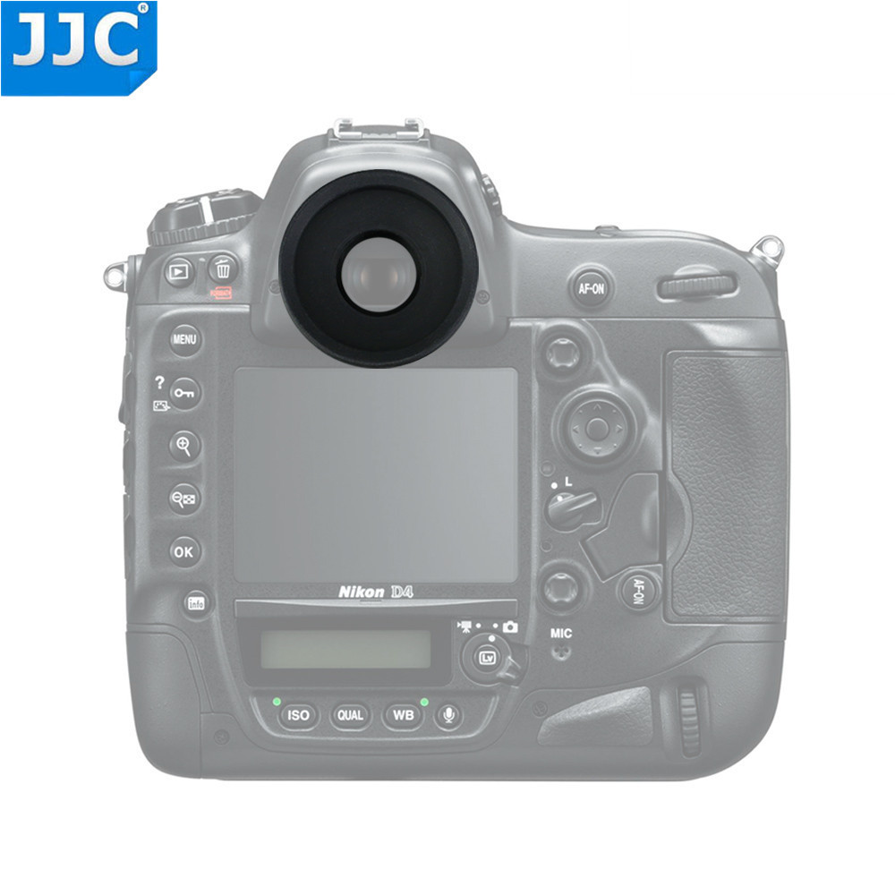 JJC EN-5K Eyecup ojo Copa ocular visor para Nikon D5... D500... D810A... D810 Df... D4S... D800E... D4... D800... D2/D3 serie sustituye a Nikon DK-19