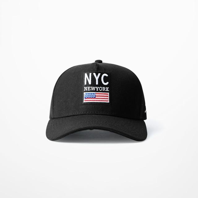 A Bandeira Dos Estados Unidos de Impressão Boné de Beisebol do Hip Hop Streetwear Nyc Newyork Embroid Retro Bonés de Beisebol Drake Bts Kpop