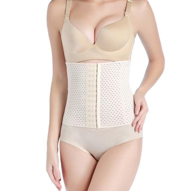 Women Waist Trainer Belt Sweat Girdle Tummy Shapewear Slimming Belts Postpartum Belly Shapers Corset Body Shaper Modeling Strap 1