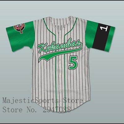 Raymond Ray Ray Bennet 5 Kekambas Baseball Jersey 2 Styles with or without Names KKB020
