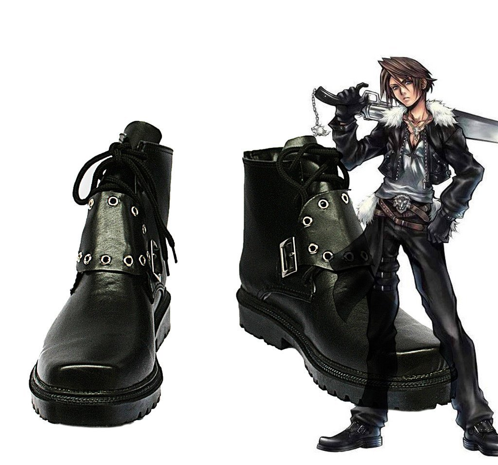 Us 42 99 Final Fantasy Viii Ff8 Squall Leonhart Cosplay Shoes Boots Custom Made In Shoes From Novelty Special Use On Aliexpress