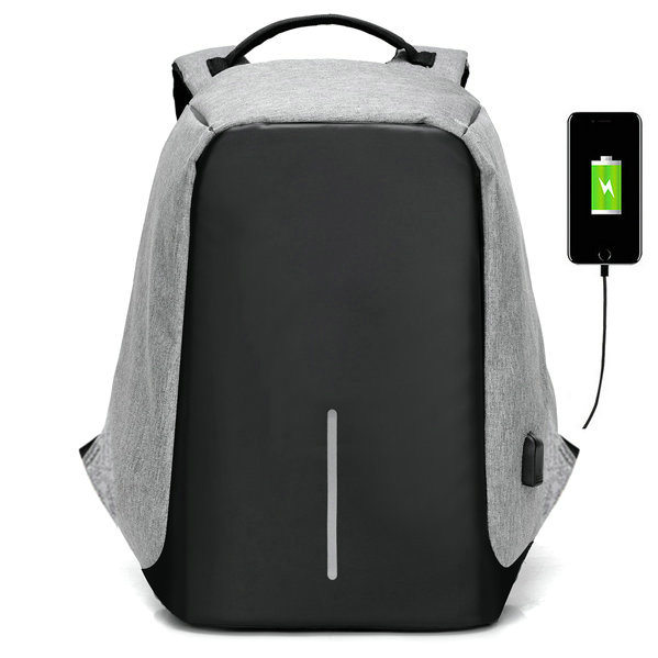 2017 Anti-theft USB charging Men 15 156inch Laptop Backpack Women Backpack Mochila School Backpack Bag Casual Laptop Bag kingsons external charging usb function school backpack anti theft boy s girl s dayback women travel bag 15 6 inch 2017 new