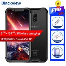 Смартфон Blackview BV9600 Pro IP68, водонепроницаемый мобильный телефон, Helio P60, 6 ГБ + 128 Гб, экран 6,21 дюйма 19:9 FHD AMOLED, 5580 мАч, Android 8,1, NFC