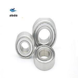 Image 5 - 10 adet/grup yüksek kalite ABEC 5 6203ZZ 6203Z 6203 ZZ TB6203ZZ 17x40x12mm Metal conta rulman korumalı sabit bilyalı rulman