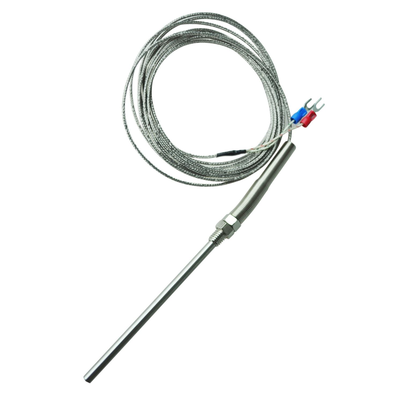 Thgs 100 400c 13mm Thread 5mm Probe K Type Thermocouple Temperature Sensor In Temperature
