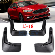 For Ford Fusion Mondeo 2013 2014 2015 2016 2017 2018 Set Molded Mud Flaps Splash Guards Mudguards Front Rear Fender