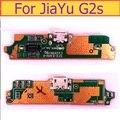 Org porta do conector de carregamento USB Microfone PCB jack placa Para Jiayu G2F Carregamento porta Usb mais Taxa de peças de reposição em estoque