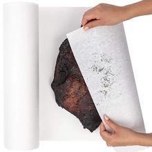 12 дюймов х 100 футов белая мясная бумага крафт-рулонная упаковочная бумага для говяжьей грудинки, барбекю мясокурительная бумага, неотбеленная