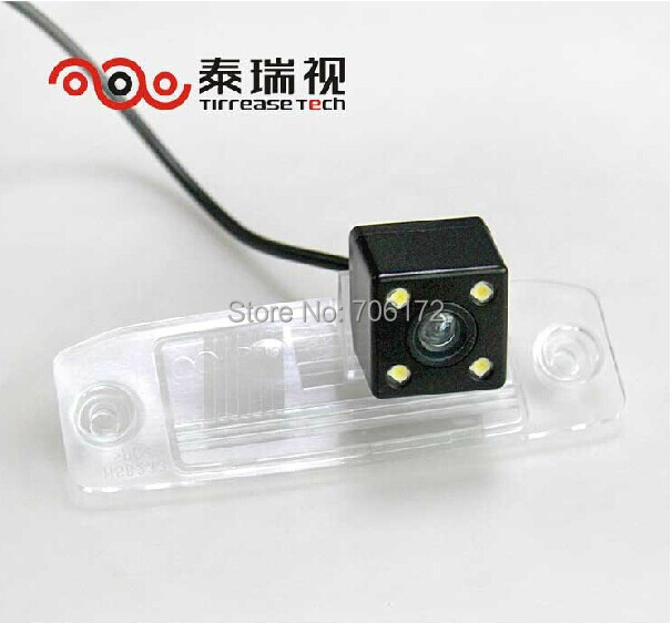 High nightvision 4 LED SONY CCD Chip Car Rear View Reverse CAMERA for Hyundai Elantra Terracan Tucson Accent Kia Sportage R 2011