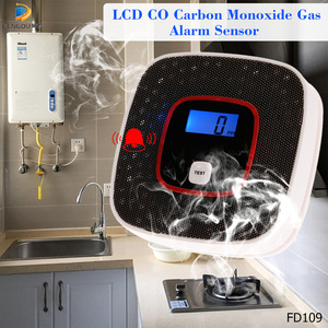 Image 2 - Wholesale Wall Mounted Independent Gas Leak Detector Kitchen Cooking Gas Detector CO Carbon Monoxide with LCD Display
