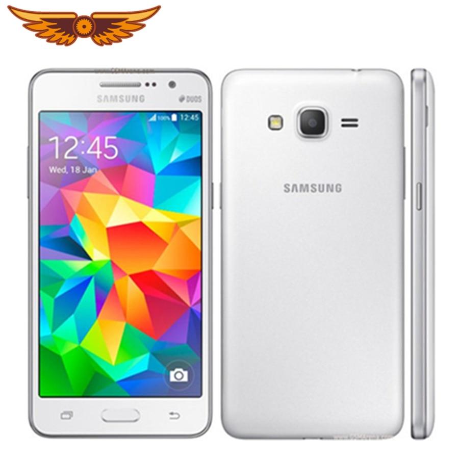 Original desbloqueado Samsung Galaxy Grand Prime G530H 5,0 pulgadas Quad Core 1GB de RAM + 8GB ROM Dual SIM Android Teléfono Móvil