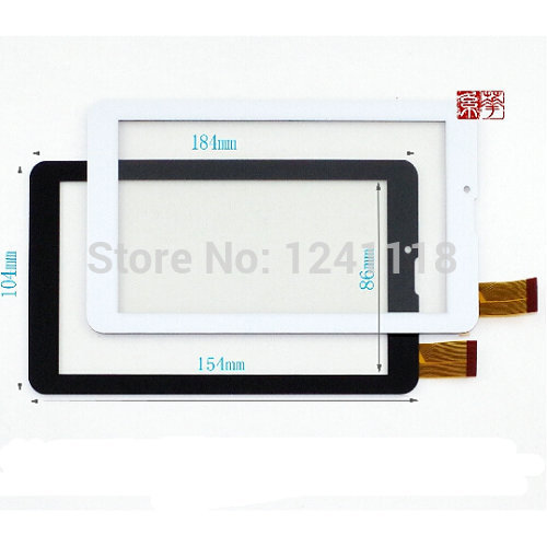 2PCs/lot Original New Touch screen Digitizer 7 Explay Hit 3G Tablet Touch panel Glass Sensor replacement Free Shipping original new 7 85 inch meo tablet 2 3g tab touch screen touch panel digitizer glass sensor replacement free shipping