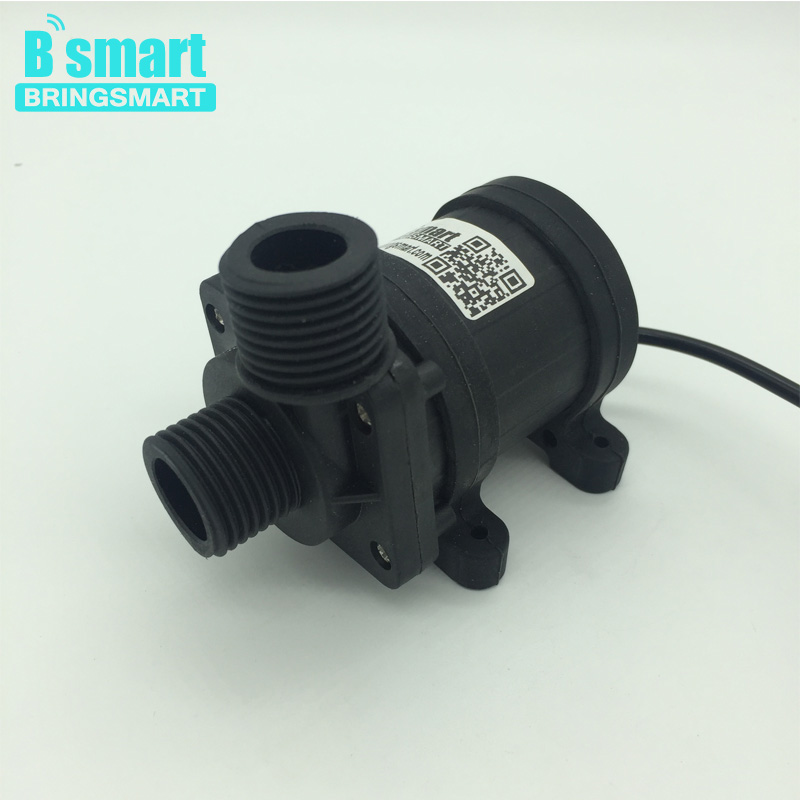 Free shipping JT-800BX 900L/H 12V 24v Mini DC Brushless Solar Energy Booster Water Pump Bathing Machine Water Pump Bringsmart bringsmart jt 280at 12v dc brushless submersible water pump 24v circulating computer cooling pumps free shipping