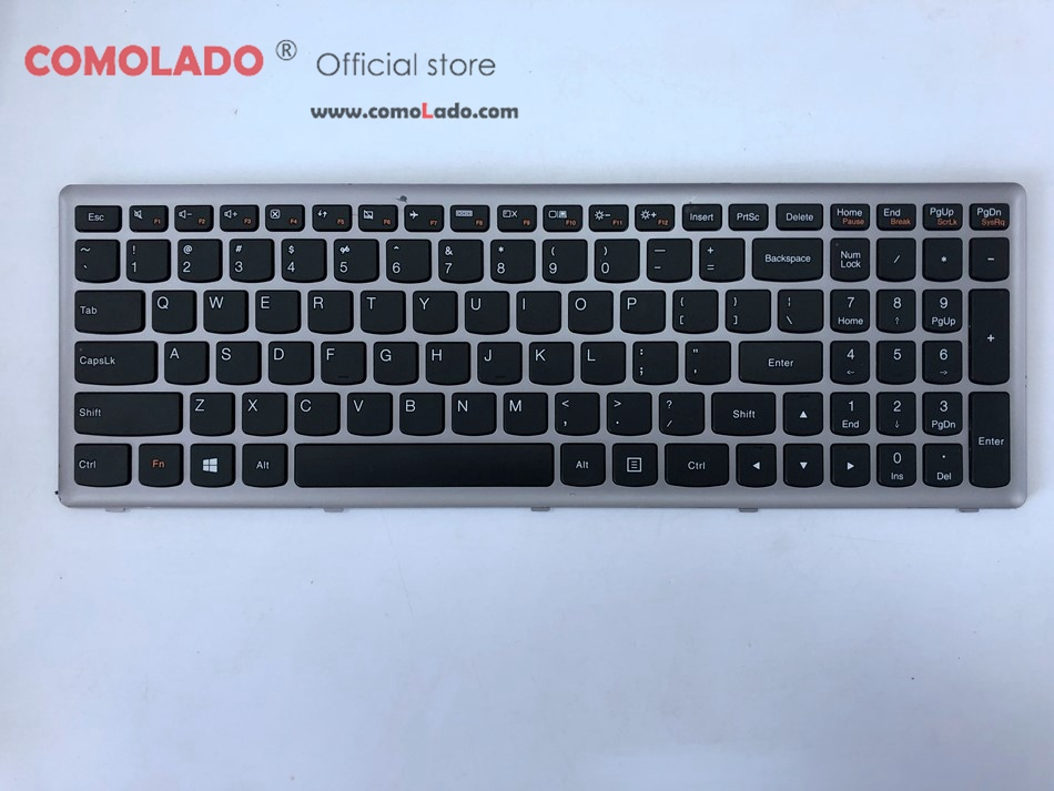 90%News Small flaws US Laptop Keyboard For Lenovo Ideapad P500 Z500 US Layout -1
