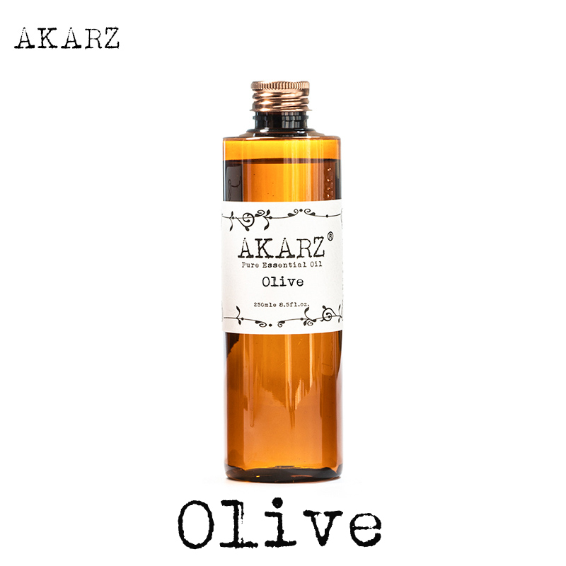 AKARZ Famous brand Olive oil natural aromatherapy high-capacity skin body care massage spa Olive essential oil image