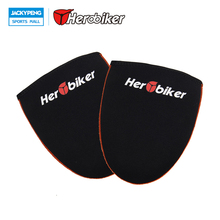 HEROBIKER Bike Shoe Toe Cover Warm Cycling Winter Sports Wear Bicycle Protector Warmer Boot Cover Black