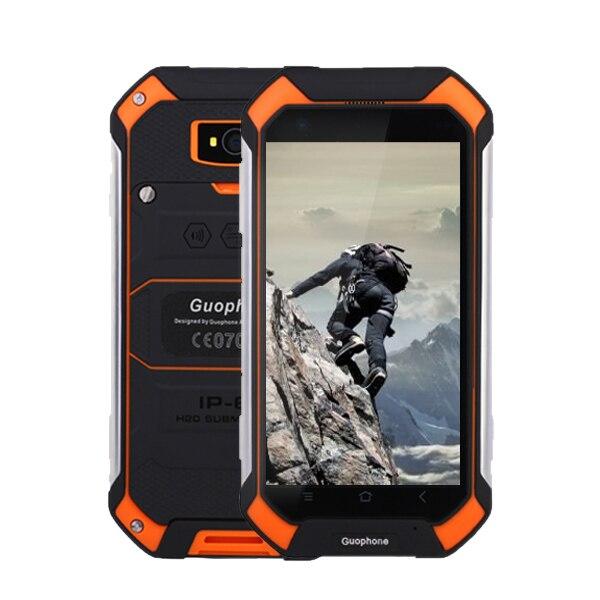 GuoPhone V19 V9 PRO IP68 MTK6580 QuadCore Android 5.1 3G GPS AGPS 2 GB RAM 16 GB ROM 4.5 Pouce Étanche SmartPhone Rover V19