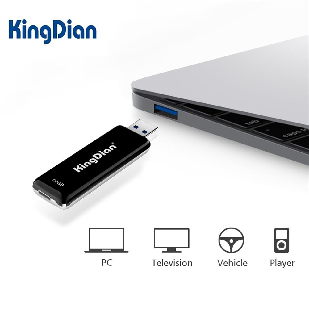 KingDian U Disk USB3.0 Type C 64/128GB Flash Drive Data Memory Card Disk For Windows Mac OS Linux IOS Android OTG Mobile Devices