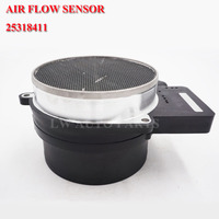 25318411 AF10043 Air Flow MAF Sensor For HUMMER H2 ISUZU ASCENDER OLDSMOBILE AURORA PONTIAC GXP GTO SAAB 9 7X V8 4.0L 5.0L 6.0L|Air Flow Meter| |  -