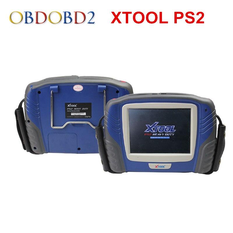 100% Originale XTOOL PS2 GDS Benzina Versione di Aggiornamento On-Line senza scatola di Plastica DHL di Spedizione