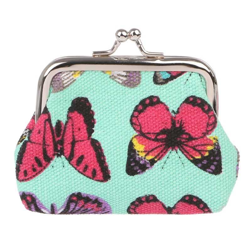 THINKTHENDO nuevo Retro mujeres niñas pequeño Animal monedero cambio monedero embrague bolso Casual Mini carteras 2018