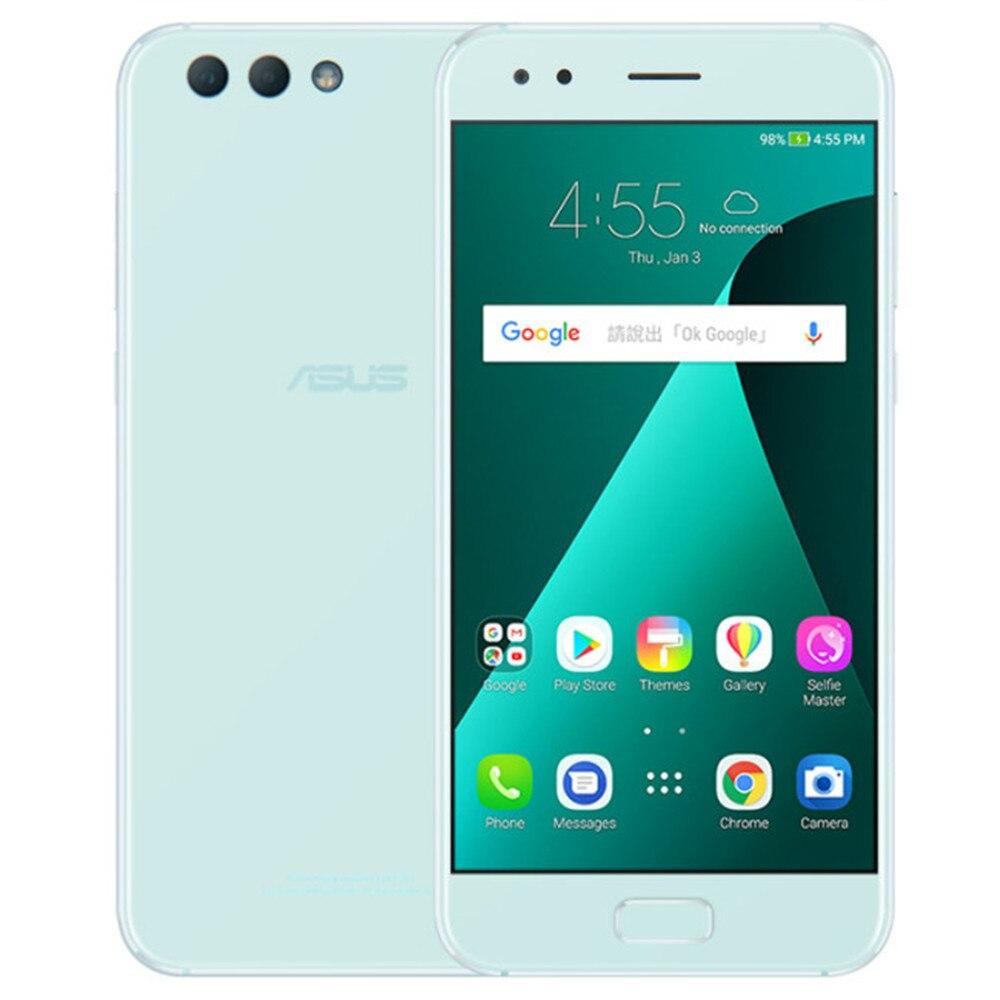 Original ASUS ZenFone 4 ZE554KL, téléphone portable 4 GB 64 GB, Android 7.1.1, 5.5 ''double caméra arrière, Octa Core, Smartphones beauté
