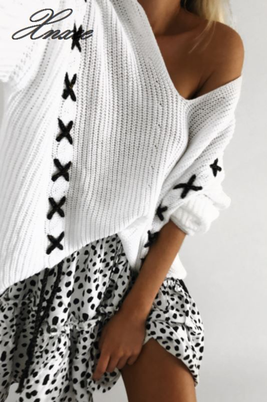 Autumn and winter knit sweater ladies tassel pocket sweater in Polo Shirts from Women 39 s Clothing