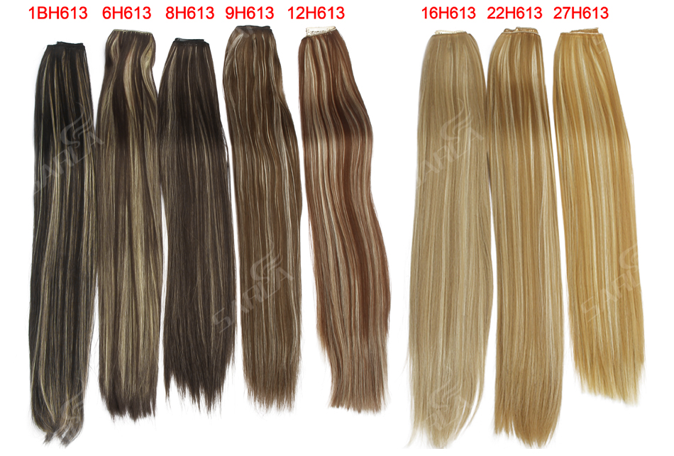 Women's 24in Straight Hair Extensions 14