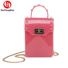 Women Hand Bags Designer Jelly Candy Small Messenger Shoulder Transparent Bag Summer Crossbody Luxury Handbags Fairy Party Bag