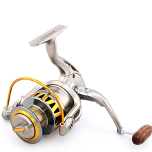 DM1000-7000 series 8 ball bearings Gear ratio 5.5:1 Pre-Loading Spinning Wheel Left or Right Hand spinning Fishing