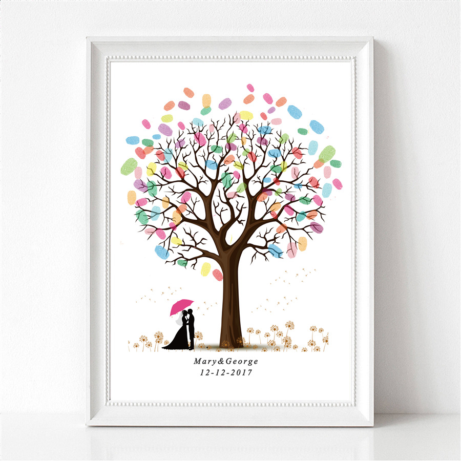 Guest Book Printing: Aliexpress.com : Buy New Personality Customized DIY Canvas